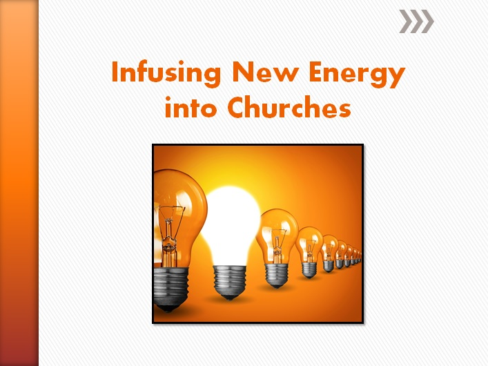 Infusing New Energy into Churches Graphic
