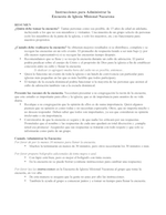 Instructions for Administering NMC Survey ESPAÑOL