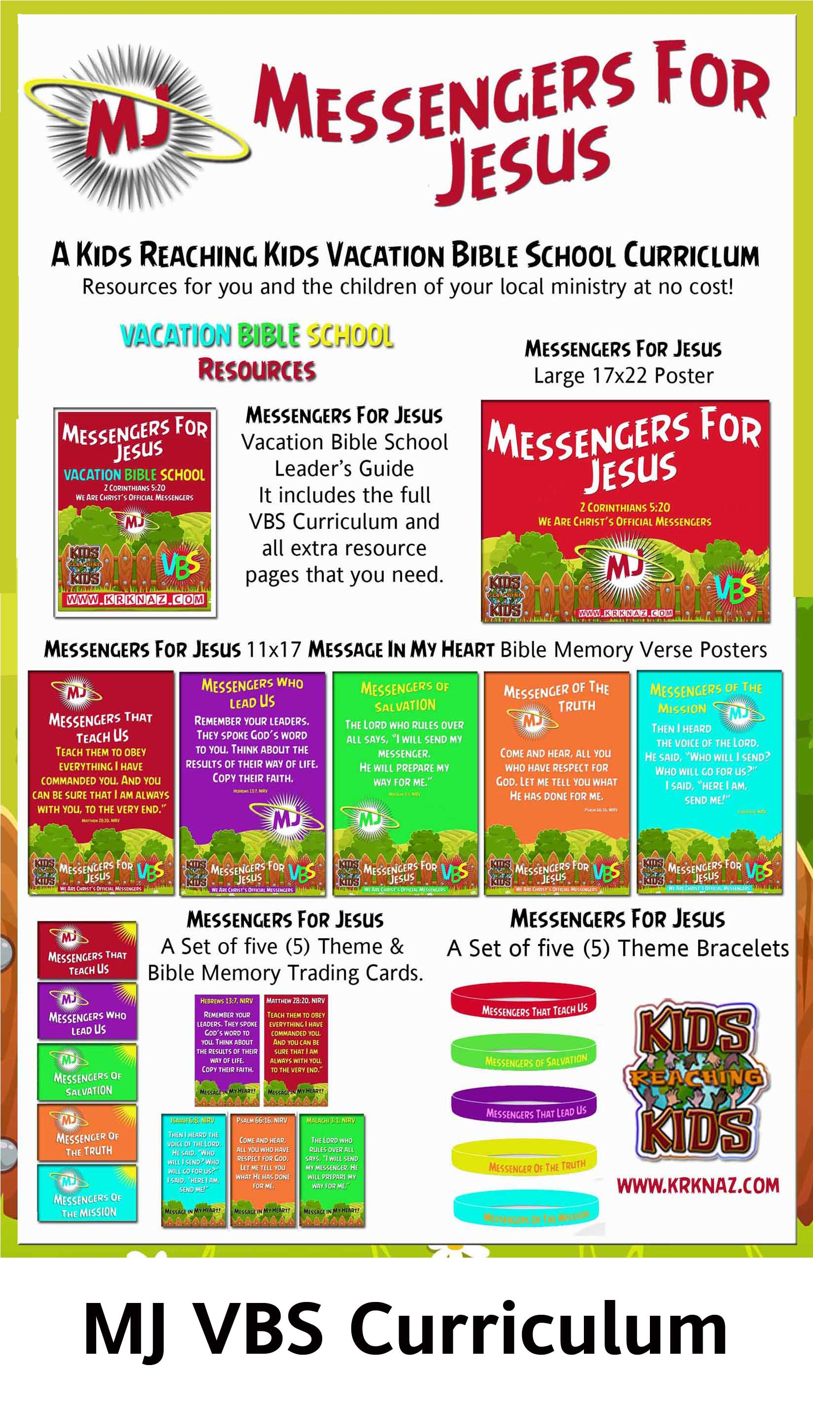 MJ VBS Curriculum with Title
