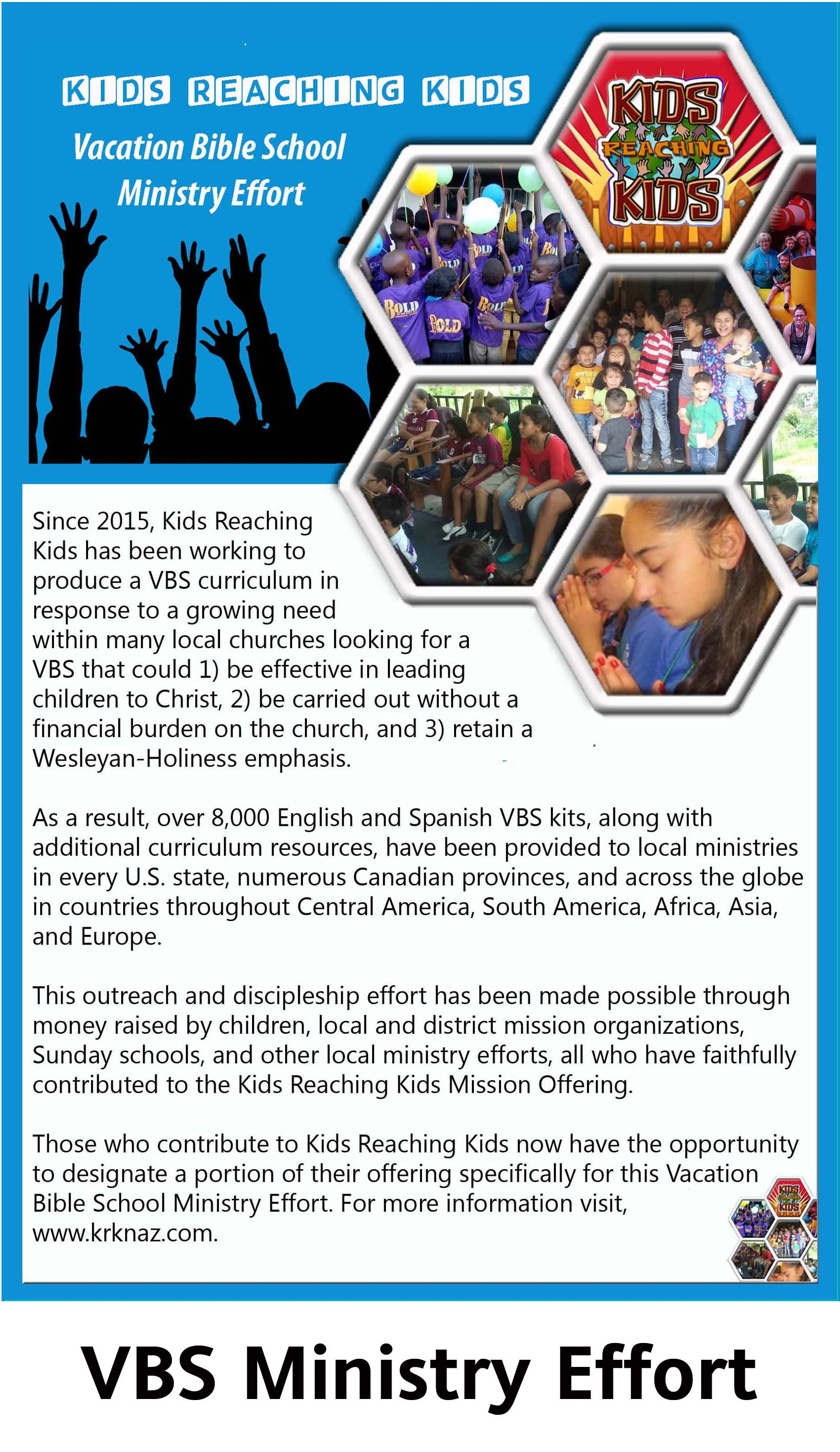 VBS Ministry Effort with Title