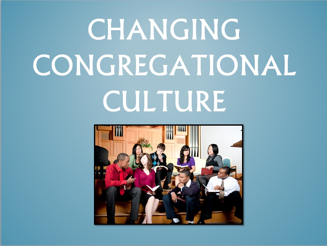 Changing Congregational Culture Graphic