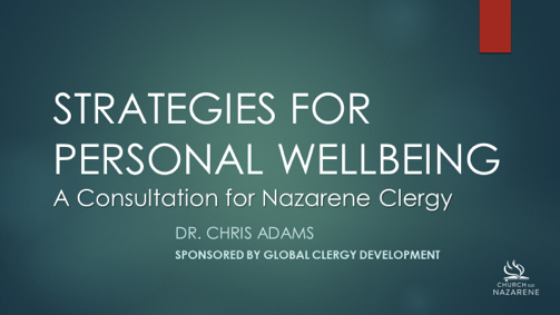 strategies for personal wellbeing
