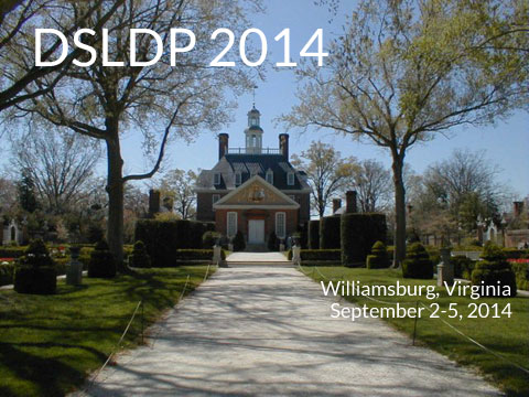 DSLDP 2014 Williamsburg Virginia