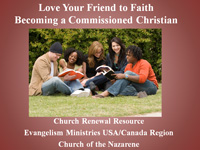 Becoming a Commissioned Christian evangelism training module