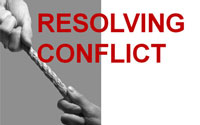 Resolving Conflict training